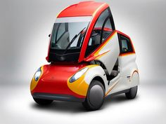 Shell's Adorably Weird New City Car Can Get 107 MPG