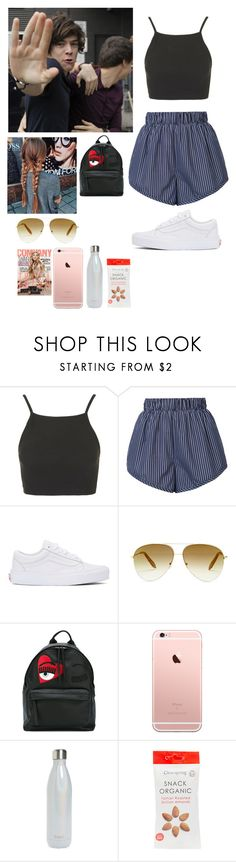 """""""Backstage at harry concert"""" by joelene-garcia ❤ liked on Polyvore featuring Topshop, STELLA McCARTNEY, Vans, Victoria Beckham, Chiara Ferragni and S'well"""