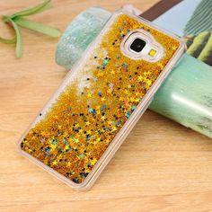 Dynamic Liquid Bling Star Quicksand capa Fundas Case for Samsung Galaxy A3 A5 A7 2016 J5 J7 Grand Prime S4/S5/S6/S6 Edge/S7 Edge
