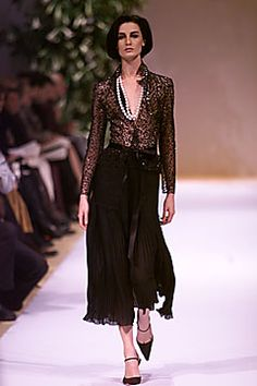 Balmain Spring 2001 Couture Fashion Show: Complete Collection - Style.com