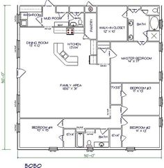 30 barndominium floor plans for different purpose pole barn house
