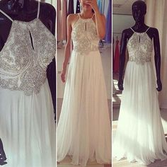 Popular Halter Open Back Sexy Chiffon Cheap Long Prom Dresses, WG503 – LoverBridal