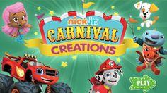 Nick Jr - Carnival Creations