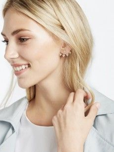 Pavé Sputnik Ear Jackets