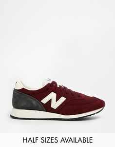 Image 1 of New Balance 620 Burgundy Sneakers - size 7.5 - $126