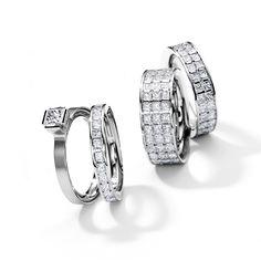 Henrich + Denzel - Lily Trauringe / Verlobungsringe - 950 Platin - Diamanten +++ Henrich + Denzel - Lily Wedding Rings / Engagement Rings - 950 Platinum - Diamonds