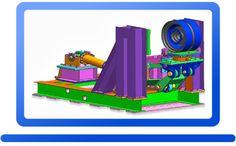 Uniaxial displacement control test Rig Products SimTest Dynamics LLP Uniaxial displacement control test Rig Products