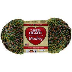Red Heart Medley Yarn-Garden