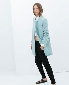 Image 1 of COAT from Zara