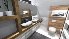 Praca konkursowa z wykorzystaniem mebli łazienkowych z kolekcji BARCELONA #naszemeblenaszapasja #elitameble #meblełazienkowe #elita #meble #łazienka #łazienkaZElita2019 #konkurs Barcelona, Vanity, Bathroom, Design, Dressing Tables, Washroom, Powder Room, Barcelona Spain, Bathrooms