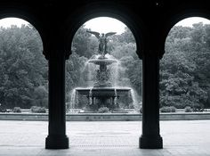 Bethesda Fountain, Central Park by NYC♥NYC