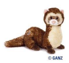 Ganz Webkinz Virtual Pet Plush - Ferret (cute!)