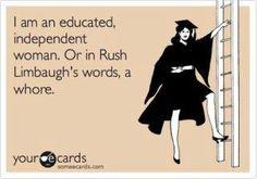 I do not like Rush Limbaugh, he is a tool
