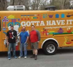 Gotta Have it Food Truck produces globally inspired cuisine. Learn more about starting your own food truck business by visiting our website. Food Truck Business, Van, Trucks, Website, Inspired, Learning, Ideas, Kitchens, Truck