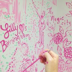 Lilly Pulitzer Dressing Room at The Summit in Birmingham, AL