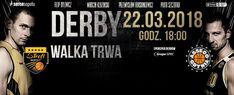 Derby Trójmiasta pomiędzy w koszykówce 22.03.18 w Ergo Arenie !!