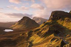 Isle of Skye, northern Scotland Trotternish Range