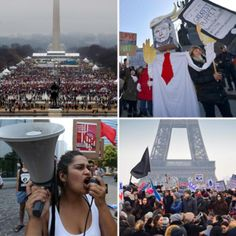 Millions attend Women's March around the world after Trump's inauguration
