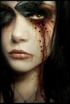 Blood Tears by #VictoriaFrancesClub on deviantART
