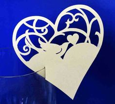 Find More Event & Party Supplies Information about LASER CUT Paper Heart and Bird Place Cards Wedding Party Decoration Table WINE GLASS CARD,High Quality card magnifying glass,China glass file Suppliers, Cheap glass sponge from Kiki  Shop on Aliexpress.com