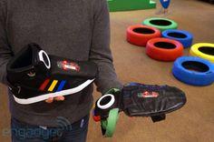De tus ojos a los pies: Google muestra un par de zapatillas 'inteligentes' en el SXSW