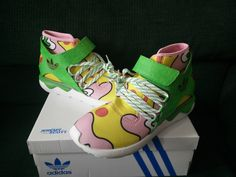 Selling New in Box Adidas Originals x Jeremy Scott JS Tubular S77835 Men and Women Ladies Unisex Fashion Sneakers Shoes Available in size Men US 8, 8.5, 9, 9.5, 10, 10.5, 11 & 12. | eBay!