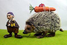 OOAK Kunst Puppe set Hobbes und Fletcher von Linas4oClockFriends