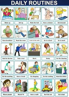 Daily Routines - English Conversations