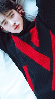 Image about kpop in Kyungsoo 🐼 by Anne Garza on We Heart It Luhan And Kris, Kris Wu, Baekhyun Chanyeol, Sekai Exo, F4 Boys Over Flowers, Flower Boys, Exo Album, Exo Lockscreen, Xiuchen
