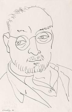 Henri Matisse, Self Portrait. More
