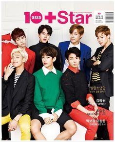10 Star Asia Korean Magazine October 2014 10+Star 10Asia BTS K-POP K POP KPOP