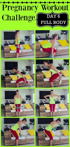 14 days of pregnancy workouts.  Pregnancy workout challenge. Just what I needed to get me going.  Dont gain a lot of weight.  Get strong, get more energy and have a faster labor all through exercise.    http://michellemariefit.com/pregnancy-workout-challenge-14-day-jumpstart/
