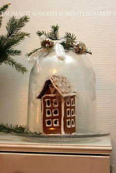 Pikkuinen piparitalo Jar, Home Decor, Decoration Home, Room Decor, Home Interior Design, Jars, Glass, Home Decoration, Interior Design
