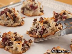 Cranberry Chocolate Chip Macaroons