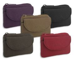 Small leather Change Purse: Amazon.co.uk: Clothing