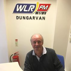 Geoff is trying his hand at receptionist today in #Dungarvan #LifeAtWLR #WLR #WorkingHard #Waterford