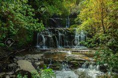 New Zealand, Waterfall, Outdoor, Image, Beautiful, Outdoors, Waterfalls, Outdoor Games, The Great Outdoors