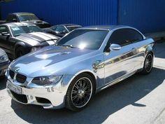 ✨  Chrome Sprayed BMW