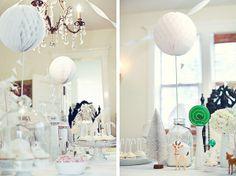 Gorgeous white themes party! <3 B