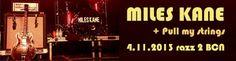 Calentita, crónica y fotos de Miles Kane de esta misma noche en Razzmatazz ya en la web;  http://www.underscore.es/detalle_concierto.php?id_conciertos=490