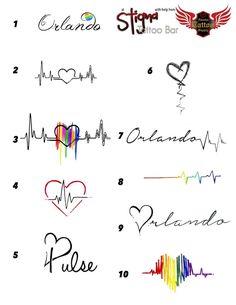 Pulse Tattoos #orlandostrong