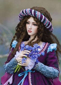 Wow!  Gorgeous doll costumes on this site - this is the link for the blog