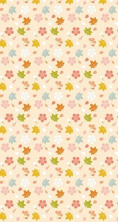 Shared by Find images and videos on We Heart It - the app to get lost in what you love. Vintage Flowers Wallpaper, Fall Wallpaper, Wallpaper Iphone Cute, Cellphone Wallpaper, Flower Wallpaper, Pattern Wallpaper, Cute Wallpapers, Flower Backgrounds, Wallpaper Backgrounds