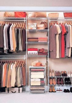 Master Bedroom Closet Organization Diy Shelving 29 Ideas For 2020 Small Master Closet, Master Bedroom Closet, Small Closets, Bathroom Closet, Diy Bedroom, Master Bedrooms, Open Closets, Dream Closets, Bedroom Ideas