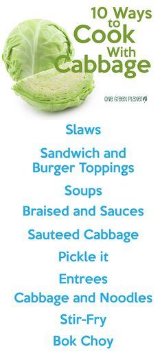 http://onegr.pl/1tifv4J #vegan #vegetarian #cooking #cabbage #meals #recipes #vegetables #health #tips