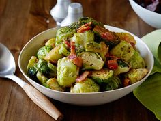 Brussels Sprouts with Bacon recipe from Food Network Kitchen via Food Network