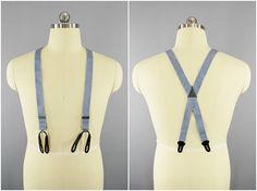 1940s Vintage / Hickok USA Suspenders / US Army Air Corps / WW2 Vintage Uniform / Air Force Pilot Uniform / Elastic Suspenders / Pilot Wings #Ww2UsArmy #HickokUsa #ArmyAirCorps #AirCorpsUniform #VintageSuspenders