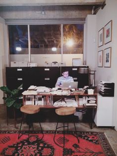 A Day In The Life of Anna Bond of Rifle Paper Co #riflepaper #annabond