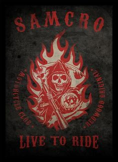 Quadro Poster Series Sons of Anarchy 4 - Decor10