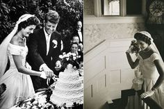 Jacqueline Kennedy is known as the most sophisticated and stylish woman of 1950s. She got married to the then Congressman John Kennedy in 1953. Her wedding gown was created by an African-American designer, Ann Lowe of New York City. The bridal gown was made using 50 yards of silk taffeta and a big bouffant skirt. The gown was further embellished with ruffle circles and wax flowers along with intricate tucking. This simple bridal gown is exhibited at Kennedy Library in Boston, Massachusetts.